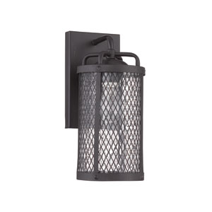 Blacksmith Matte Black One-Light Outdoor Wall Sconce