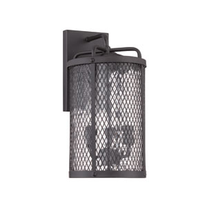 Blacksmith Matte Black Eight-Inch Outdoor Wall Sconce