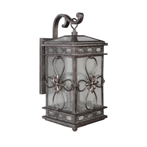 Edinburgh Dark Granite Twenty-Eight-Inch Outdoor Wall Sconce