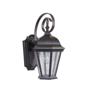 Chadwick Oiled Bronze Gilded One-Light 14-Inch Outdoor Wall Mount