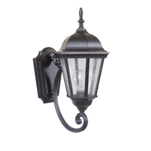 Newberg Oiled Bronze Gilded One-Light 17-Inch Outdoor Wall Mount