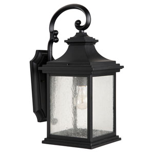 Gentry Midnight One-Light 20-Inch Outdoor Wall Mount