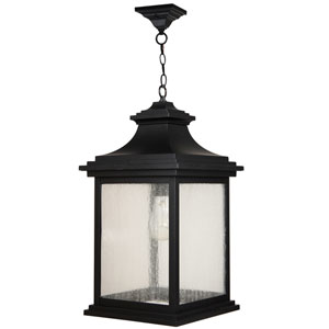 Gentry Midnight One-Light Outdoor Pendant