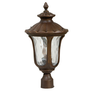 Sheffield Aged Bronze Outdoor Post Top