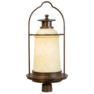 Portofino Aged Bronze Post Lamp