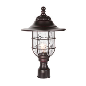 Fairmont Oiled Bronze Gilded One-Light Outdoor Post Mount