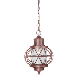 Revere Aged Bronze One-Light Outdoor Pendant