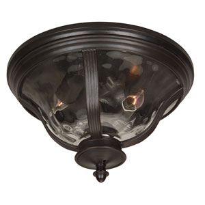 Frances Outdoor Flush Ceiling Light