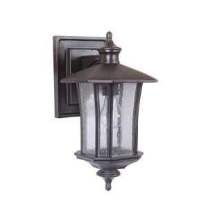 Chateau Oiled Bronze Gilded Eight-Inch Outdoor Wall Sconce