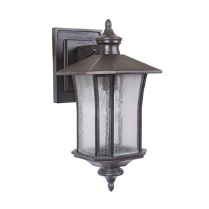 Chateau Oiled Bronze Gilded Nine-Inch Outdoor Wall Sconce