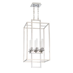 Cubic Chrome 16-Inch Six-Light Foyer