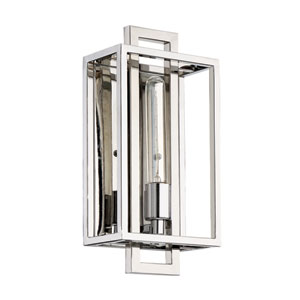 Cubic Chrome 7-Inch One-Light Wall Sconce