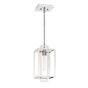 Cubic Chrome 7-Inch One-Light Mini Pendant