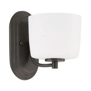 Clarendon Aged Bronze Brushed 6-Inch One-Light Wall Sconce