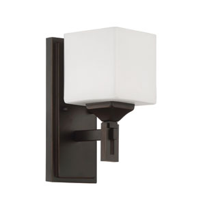 Urbane Oil Bronze Gilded 5-Inch One-Light Wall Sconce