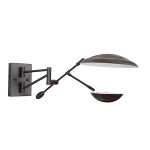 Pavilion Flat Black 10-Inch LED Wall Sconce