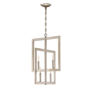 Portrait Gold Twilight 16-Inch Four-Light Foyer