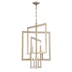 Portrait Gold Twilight 19-Inch Six-Light Foyer