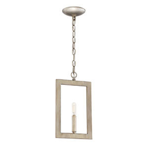 Portrait Gold Twilight 8-Inch One-Light Mini Pendant