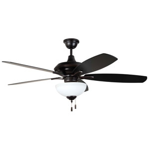 Copeland Oiled Bronze Gilded 52-Inch Ceiling Fan with LED Light Kit