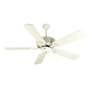 Cordova Antique White Ceiling Fan with 52-Inch Standard Antique White Blades