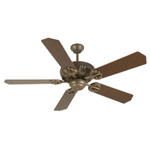 Cordova Aged Bronze Ceiling Fan with 52-Inch Standard Aged Bronze Blades