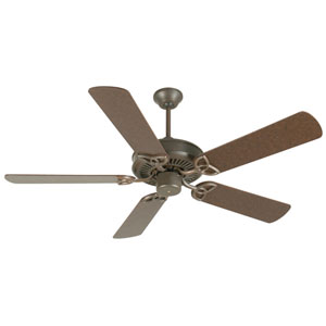 CXL Aged Bronze Ceiling Fan with 52-InchStandard Plus Series Aged Bronze
