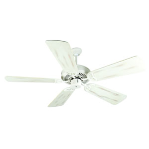 CXL Antique White Ceiling Fan with 54-Inch Premier Distressed Antique White Blades