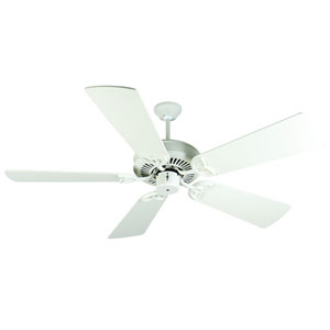 CXL Antique White Ceiling Fan with 54-Inch Premier Antique White Blades