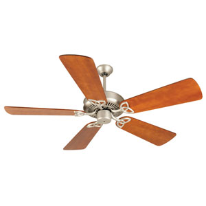 CXL Brushed Nickel Ceiling Fan with 54-Inch Premier Distressed Cherry Blades