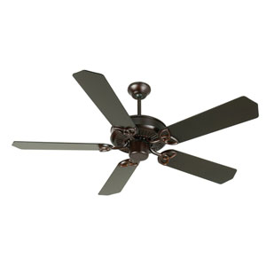 CXL Oiled Bronze Ceiling Fan with 52-Inch Standard Oiled Bronze Blades