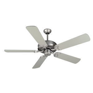 CXL Brushed Nickel Ceiling Fan with 52-Inch Plus Series Brushed Nickel Blades