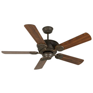 Chaparral Aged Bronze Ceiling Fan with 52-Inch Plus Series Walnut Blades