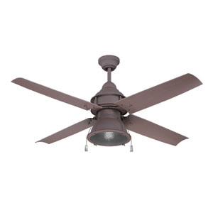 Port Arbor Rustic Iron One-Light LED Ceiling Fan