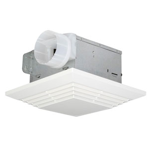 Builder Designer White Bathroom Ventilation Fan