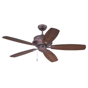 Yorktown Oiled Bronze Fifty-Two-Inch Ceiling Fan