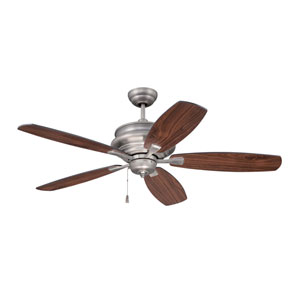 Yorktown Pewter Fifty-Two-Inch Ceiling Fan
