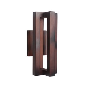 Kai Aged Copper 6-Inch Outdoor LED Outdoor Wall Mount