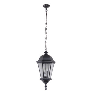 Chadwick Midnight 11-Inch Three-Light Outdoor Pendant