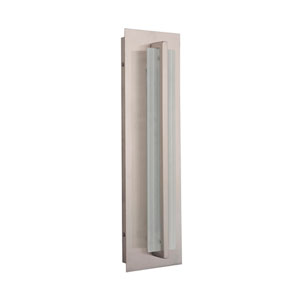 Allure Stainless Steel 18-Inch Outdoor LED Pocket Sconce