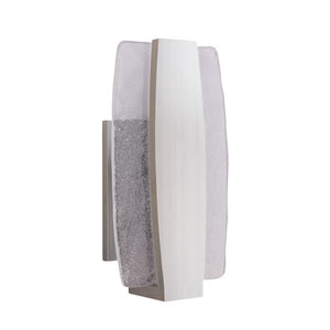 Duo Stainless Steel 6-Inch Outdoor LED Pocket Sconce