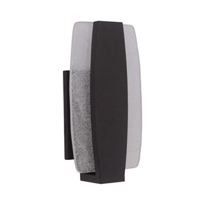 Duo Midnight 8-Inch Outdoor LED Pocket Sconce