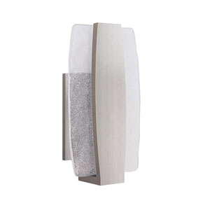Duo Stainless Steel 8-Inch Outdoor LED Pocket Sconce