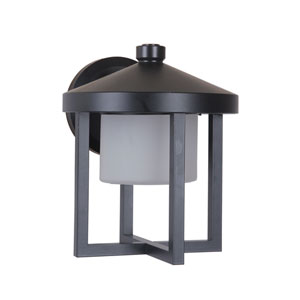 Alta Midnight 8-Inch Outdoor LED Outdoor Wall Mount