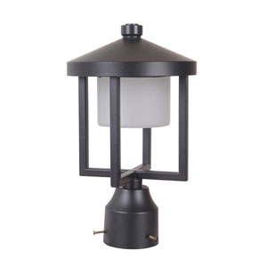 Alta Midnight 8-Inch LED Outdoor Post Mount