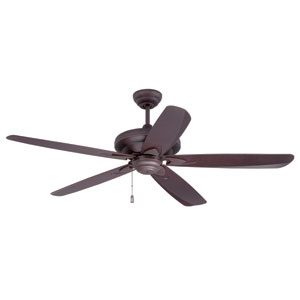 Zena Gilded Oiled Bronze Ceiling Fan