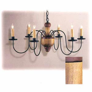 Northfield Wooden Chandelier