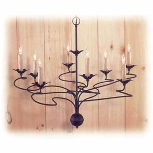Enchantment Metal Chandelier