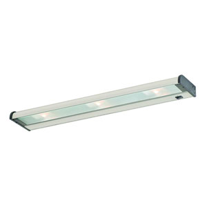 Counter Attack Stainless Steel  24-Inch Three Light Xenon Under Cabinet Light