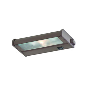 Counter Attack Bronze 8-Inch One Light Xenon Speed Link Compatible Under Cabinet Light